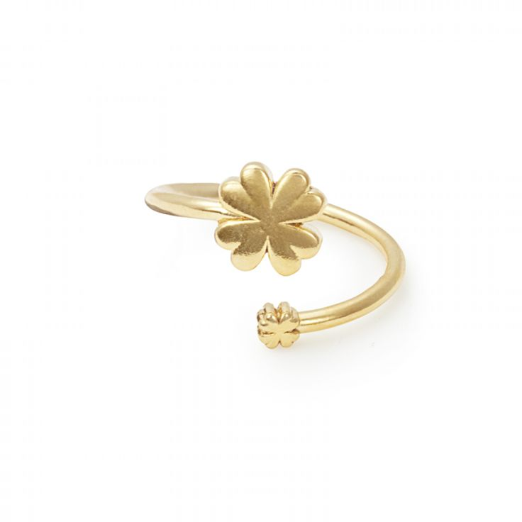 The Four Leaf Clover is one our of most popular symbols. With this ring wrap from ALEX AND ANI you will always have the luck you need. Shop today!