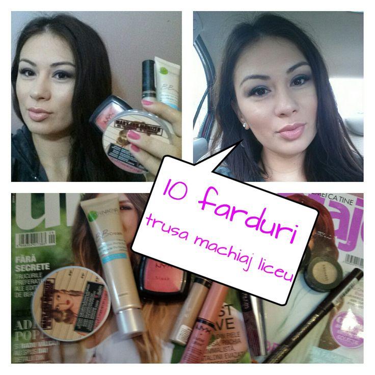 10 Farduri Trusa Machiaj Liceu Makeupswannet Pinterest