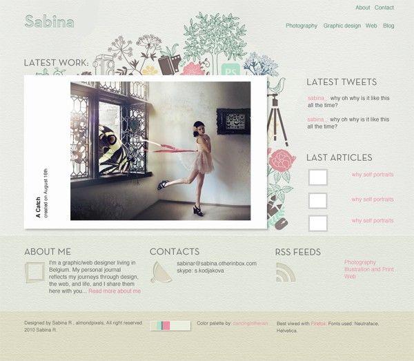 Custom website design package.
