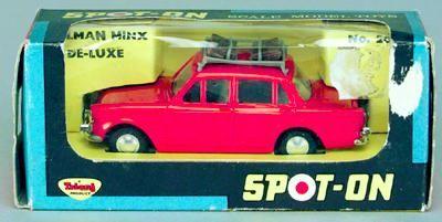 Spot On - Saloons and Sportscars Hillman Minx