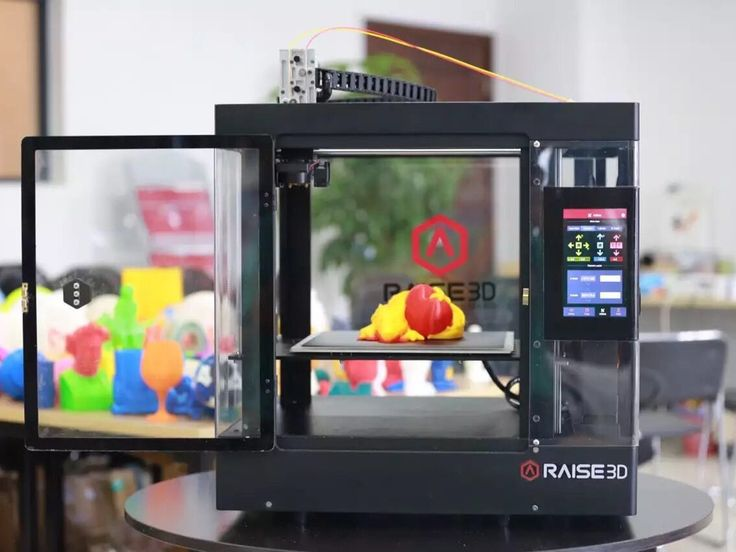 3D printer with Hi-res 0.01mm, 10+ types of filament, 7'' touch-screen, Remote control, Resume printing after power interruption