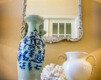 Vintage French Style Painted Mirror - Edit Listing - Etsy