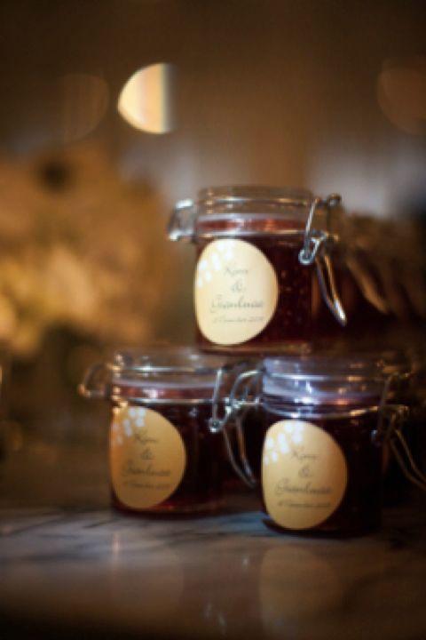 Grandma's Jam Recipe Wedding Favours