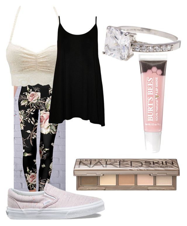 """legging outfit"" by zombiebarbie1333 on Polyvore featuring Azalea, Charlotte Russe, WearAll, Vans, Urban Decay, Sterling Forever and plus size clothing"