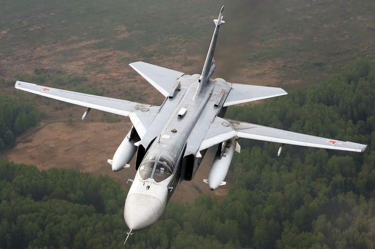 """Su-24 """"Fencer"""" - supersonic, all-weather attack aircraft"""