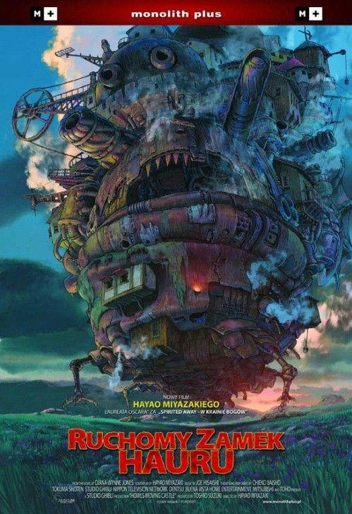 Ruchomy zamek Hauru / Hauru no ugoku shiro (2004, Hayao Miyazaki)