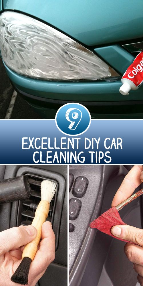 9 Excellent DIY Car Cleaning Tips