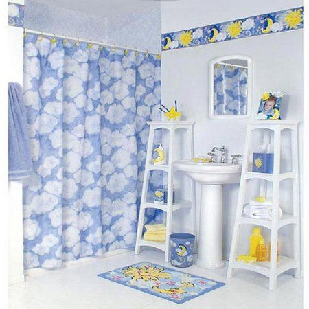 Image Detail For  Kids Bathroom Designs By Susan: Bright Kids Blue Bathroom    Susan Kids . Part 61