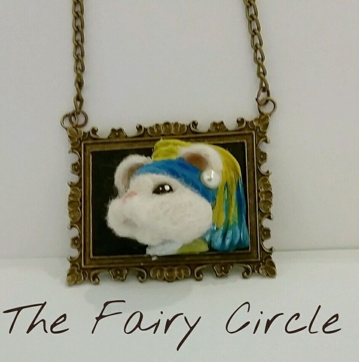 Collana serie  Topini d Autore  - ORIGINALE THE FAIRY CIRCLE handmade
