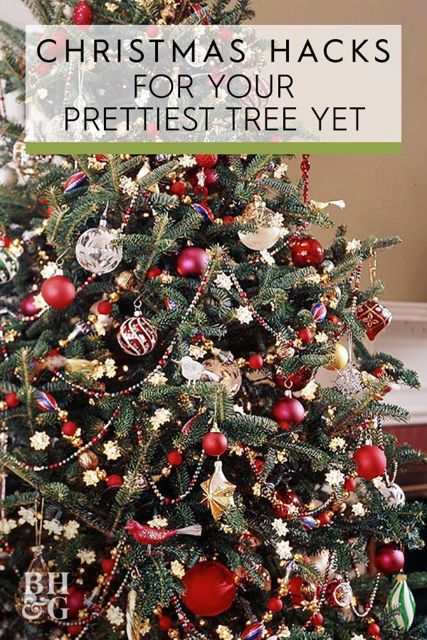 Must Have Tips For Prettier Christmas Trees Pretty Christmas Trees Hanging Christmas Tree Beautiful Christmas Trees