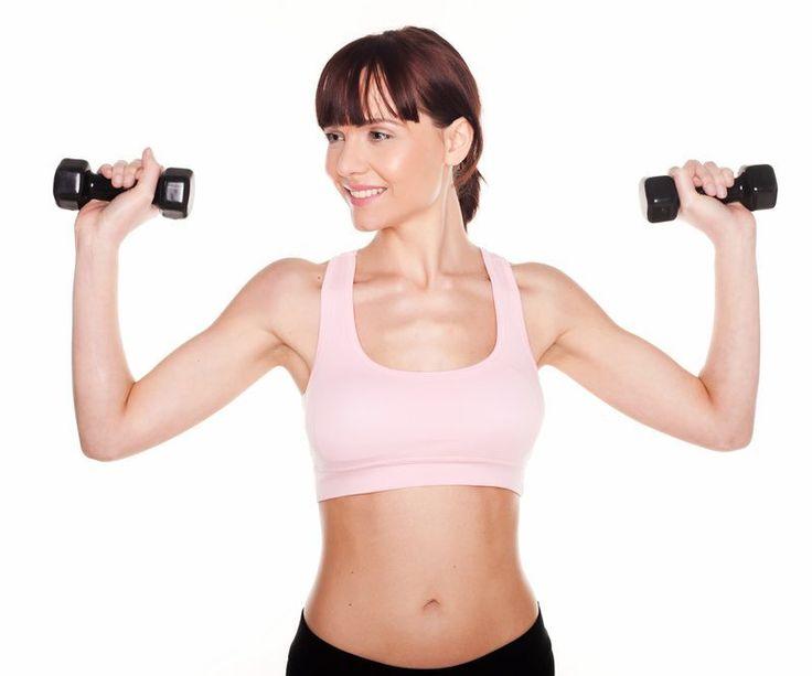 ¡Motivate a realizar esta rutina para desaparecer las flacidez de los brazos! Esta rutina trabaja: - La parte superior de tu espalda - Tus hombros - Tus brazos Indicaciones: Haz estos ejercicios ...