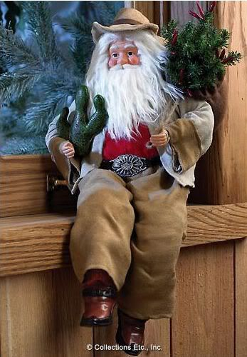 Best images about cowboy santas on pinterest red