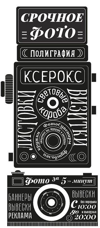 Полиграфия в Люберцах, фотосувениры, срочное фото на документы, наружная реклама, визитки, листовки, ксерокс