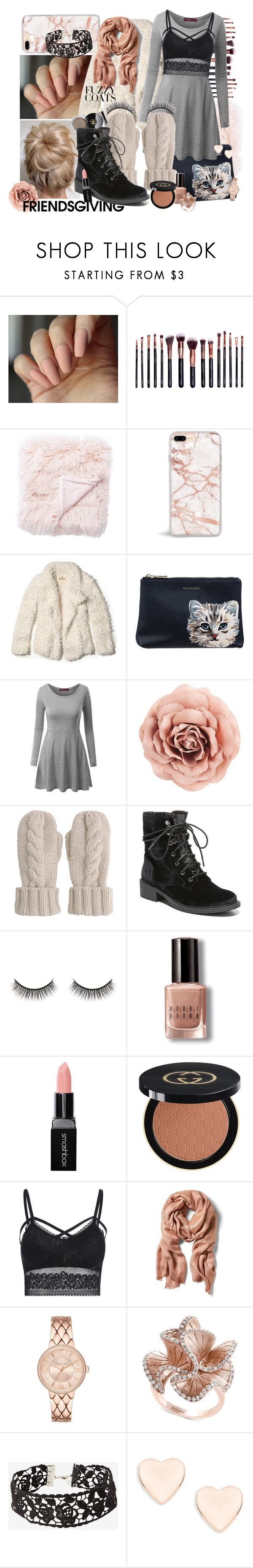 """""""Thankful for Pink and Punk"""" by berryawesome ❤ liked on Polyvore featuring M.O.T.D Cosmetics, Jaipur, Hollister Co., Paul & Joe Sister, Doublju, Mint Velvet, Circus by Sam Edelman, Battington, Bobbi Brown Cosmetics and Smashbox"""