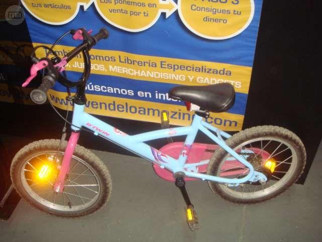 . BICICLETA INFANTIL BTWIN DESIGN Bicicleta infantil btwin buen estado bicicleta infantil btwin design rosa bicicleta infantil btwin design color rosa 3-7 a�os con timbre buen estado