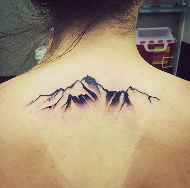 ideas de montanas tatuajes