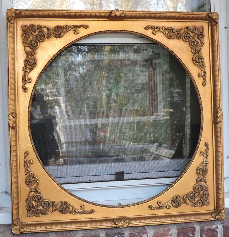 Mejores 161 imágenes de Vintage & Antique Picture Frames en ...