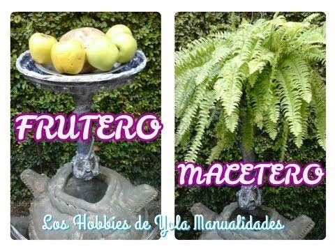 DIY Frutero o Macetero. Los Hobbies de Yola 🌮
