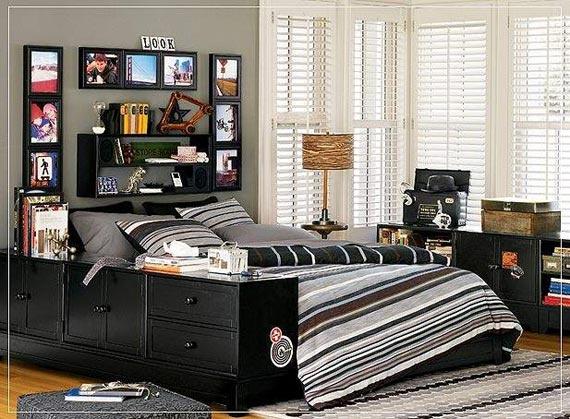 Cool Elegance Boys Bedroom Ideas Design in Youthful Theme -PB Teen