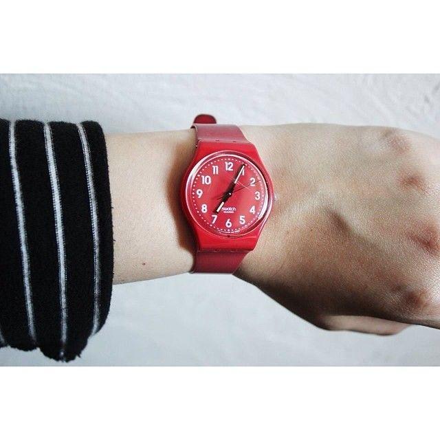 #SwatchSwatches Cherries, Clocks Swatches