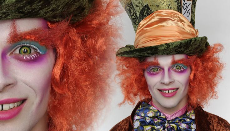 The Mad Hatter MakeUp Tutorial For Halloween   Save even more when you use BuyCostumes and BH Cosmetics coupons  http://www.offers.com/buy-costumes-com/ http://www.offers.com/bhcosmetics/