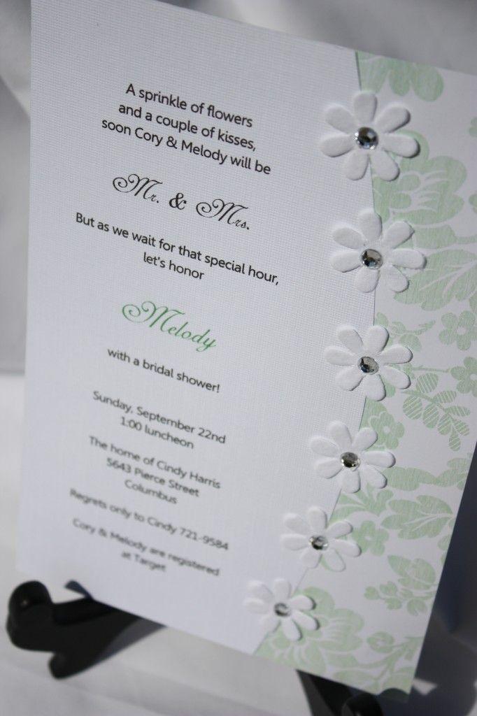 bridal shower invitation ideas craft%0A Best     Homemade invitations ideas on Pinterest   Homemade wedding  invitations  Homemade wedding envelopes and Homemade birthday invitations