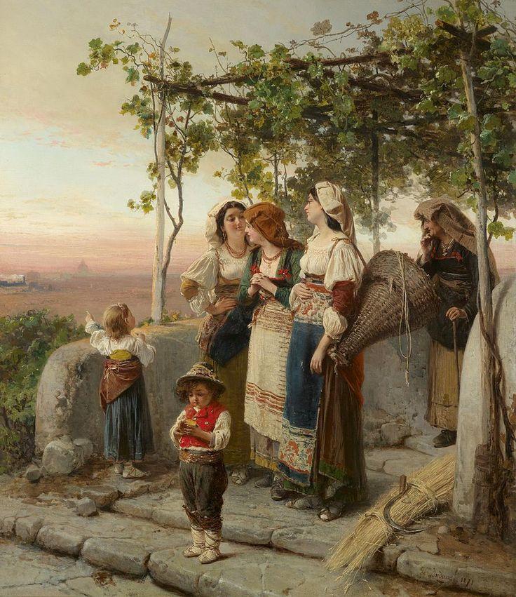Genremalerei 19. jahrhundert  27 besten Arte... Domenico e Gerolamo Induno Bilder auf Pinterest ...