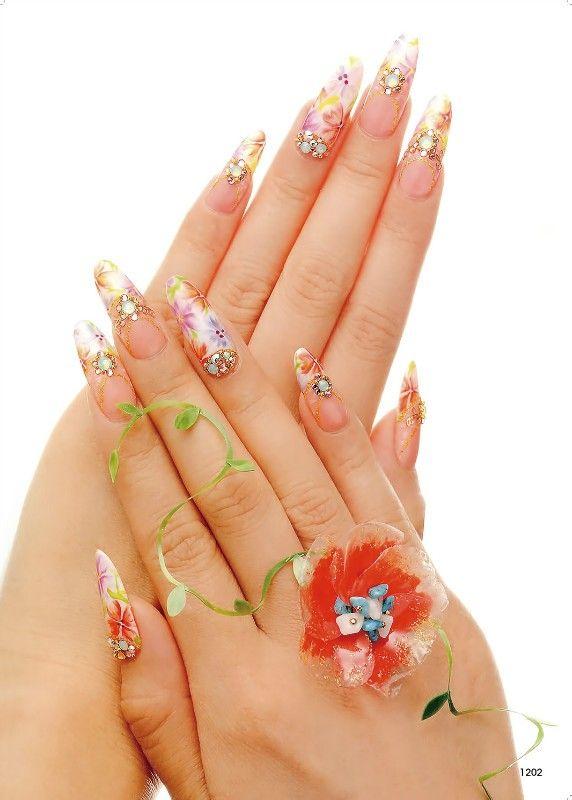gel-made nails