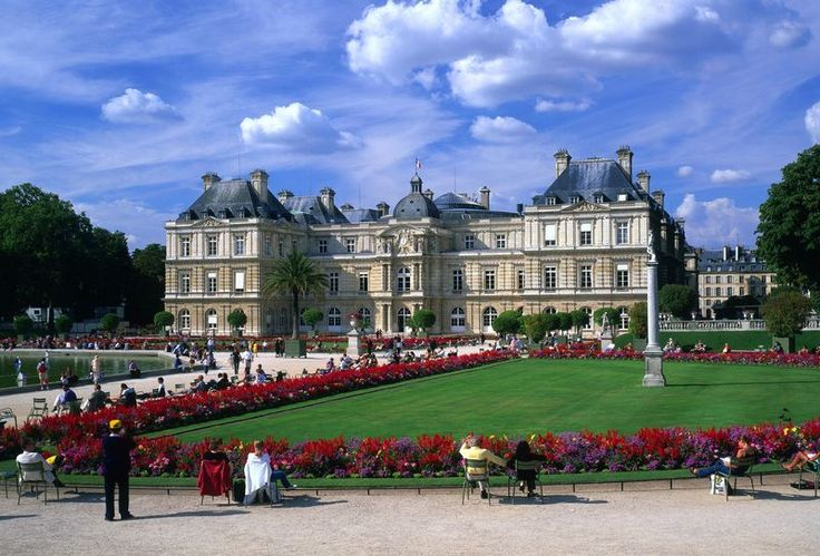 Jardin du Luxembourg in Paris. Image credits: http://bit.ly/1iJ9REP