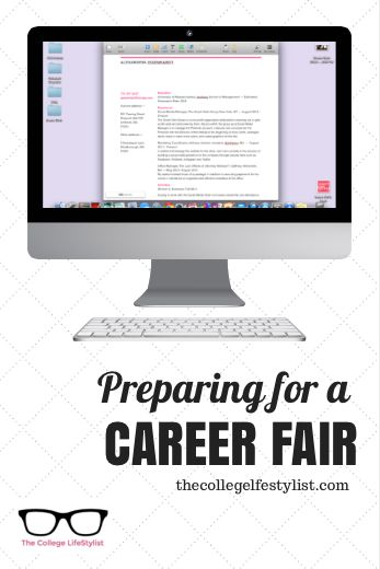 Career Fair Planning