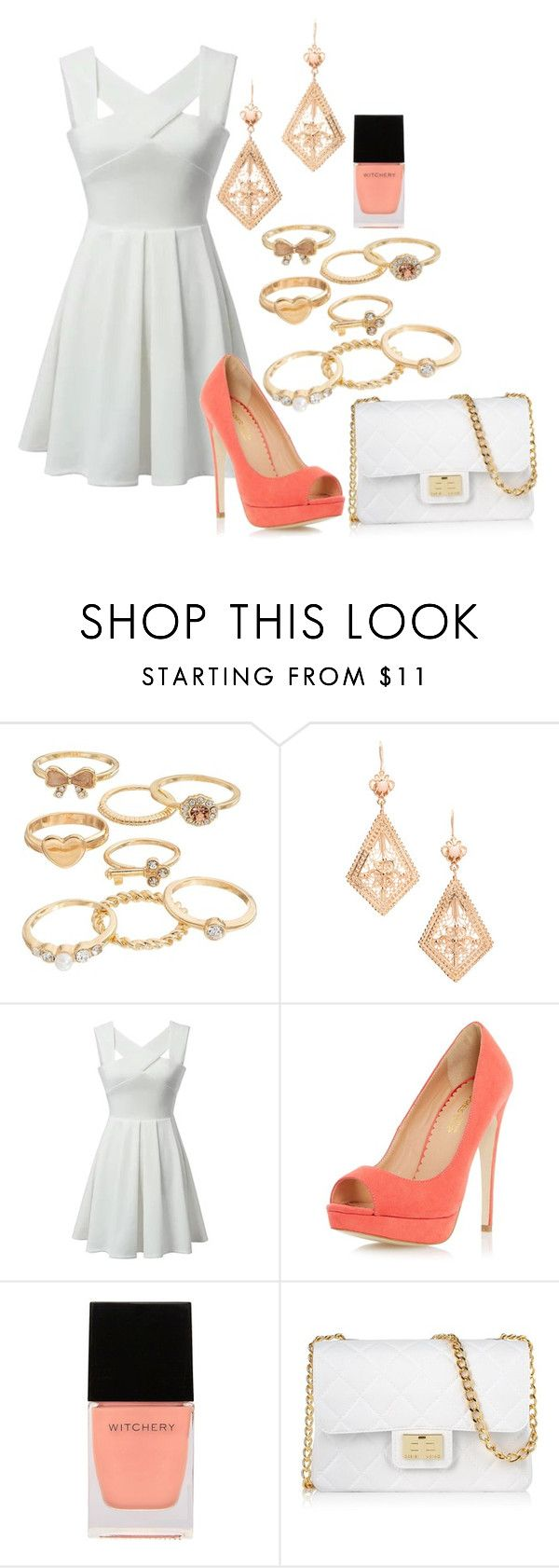 """Up on a hill across the blue lake that where I had my first heart break"" by chloetang ❤ liked on Polyvore featuring Mudd, Dorothy Perkins, Witchery and Design Inverso"