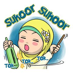 check out the Baby Hijab : Ramadan (Eng) sticker by EdSants on chatsticker.com