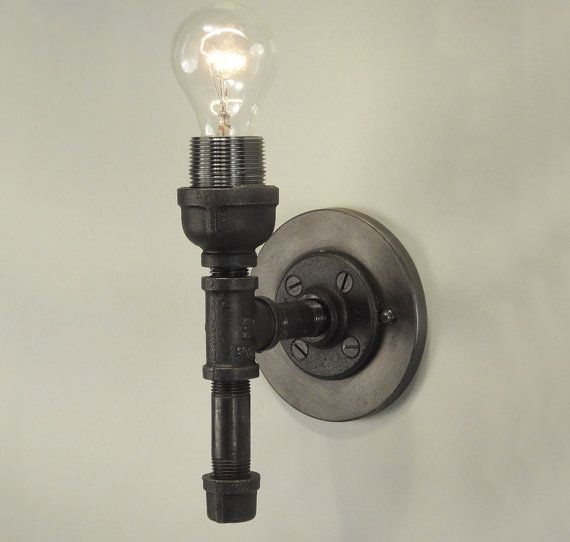 Industrial Revived – Pipe Wall Sconce