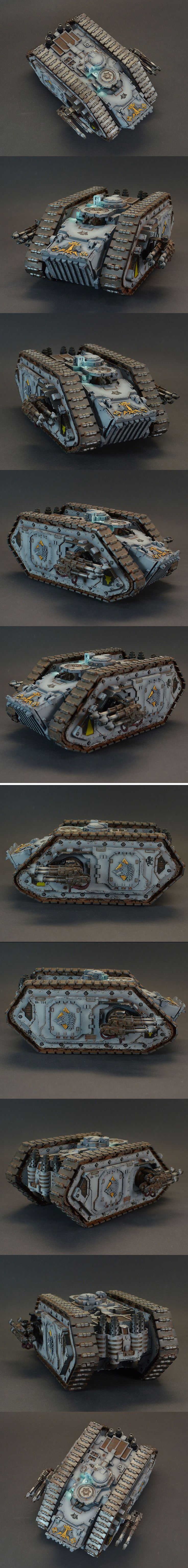 40k - Space Wolves Spartan Assault Tank by JakobMiniatures