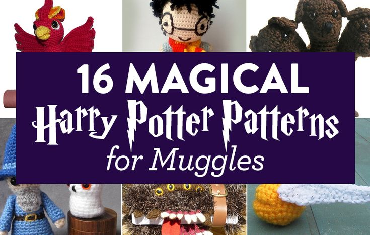 16 Magical Harry Potter Patterns for Muggles