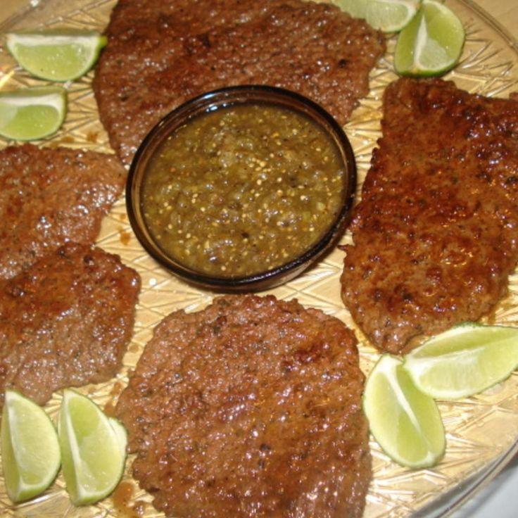 Spicy Lemon Beef Bottom Round Steak