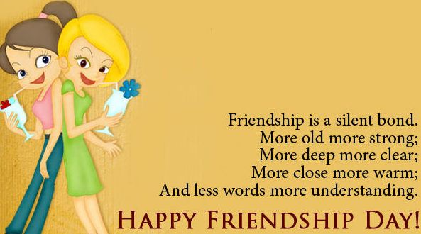 heart Warming Friendship Day images with messages