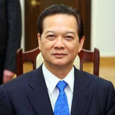 Government: Prime Minister of the country: Nguyen Tan Dung. He is the head of government, appointed by the president: Truong Tan Sang, whom of which is elected by popular vote.