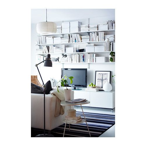 algot wall upright shelves white 190x20x84 cm chang 39 e 3 floors and the floor. Black Bedroom Furniture Sets. Home Design Ideas