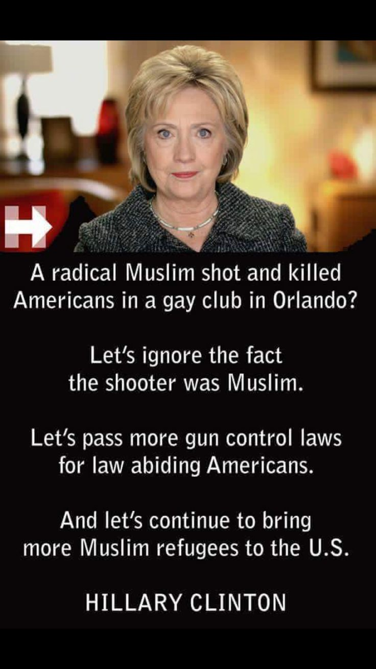 """Vote Republican. Get a conservative in office. At least someone who isn't so liberal that they CAN say """"Muslim Terrorist""""or """"Muslim Extremist"""" when it's the truth.. ."""