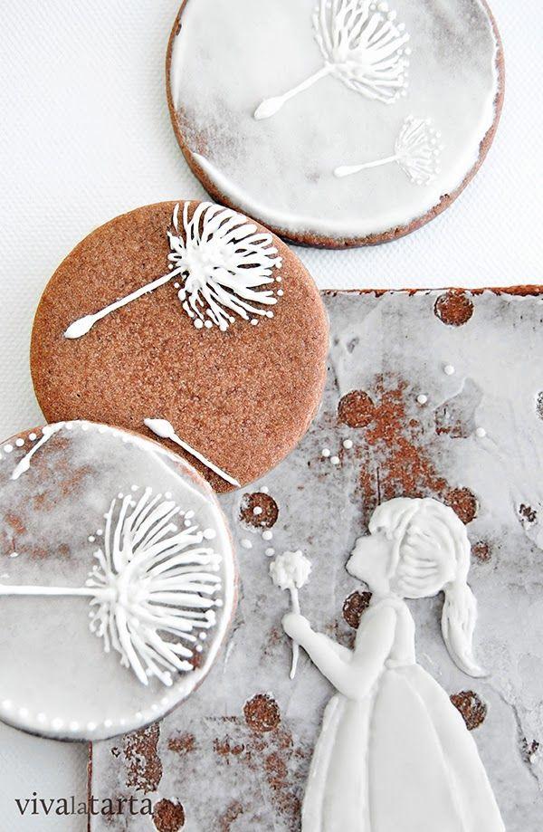 buenos deseos | Viva LaTarta. Preciosas y sutiles galletas.