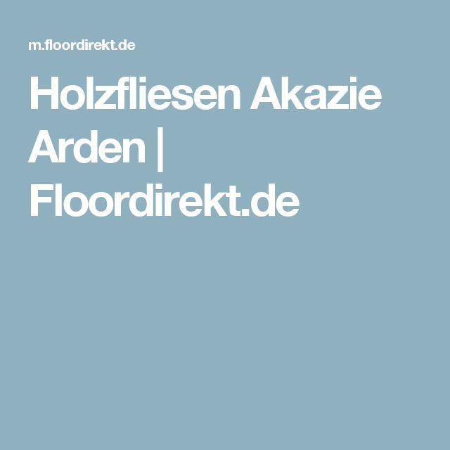 Holzfliesen Akazie Arden | Floordirekt.de