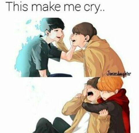 Ça me fais pleurer ~