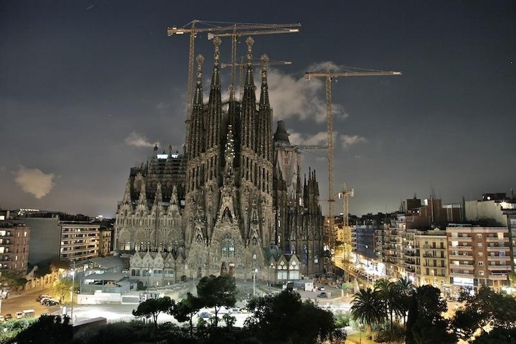 Breathtaking; Sagrada Familia @night