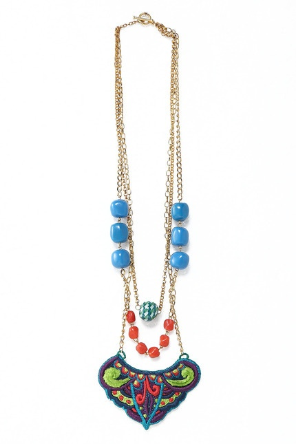 Irish Necklace by Kitty Kitz