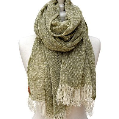 Australian Made Gifts & Souvenirs with the Army Merino Loose Weave Scarf -by The Spotted Quoll. For the best Australian online shopping for a