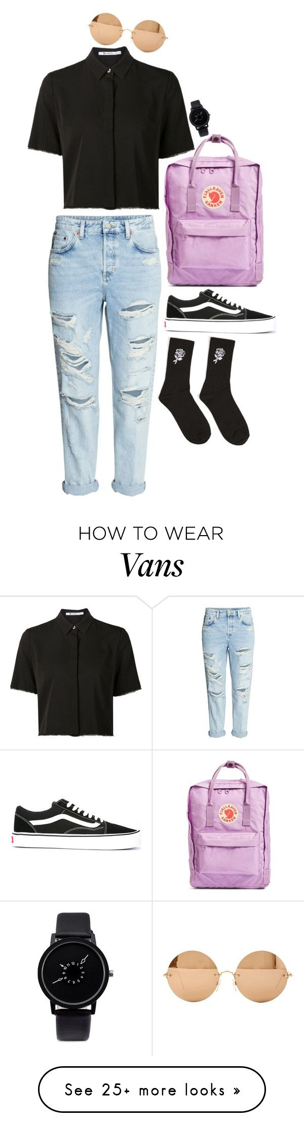 """Untitled #566"" by abigaillestrange on Polyvore featuring Alexander Wang, Victoria Beckham, Fjällräven, H&M, 21 Men and Vans"