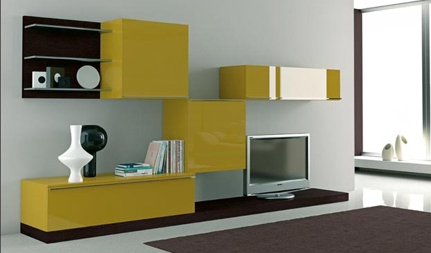 Contemporary Entertainment Wall Units Modern Homes