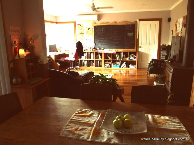 home educating in a peaceful environment