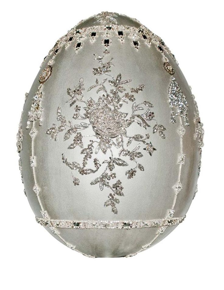 Fabergé Big Egg Hunt Marchesa Egg Sculpture. Discover jewellery that is easter worthy, full of eggs, gems and colour: http://www.thejewelleryeditor.com/jewellery/article/faberge-egg-charms-bracelet/ #jewelry